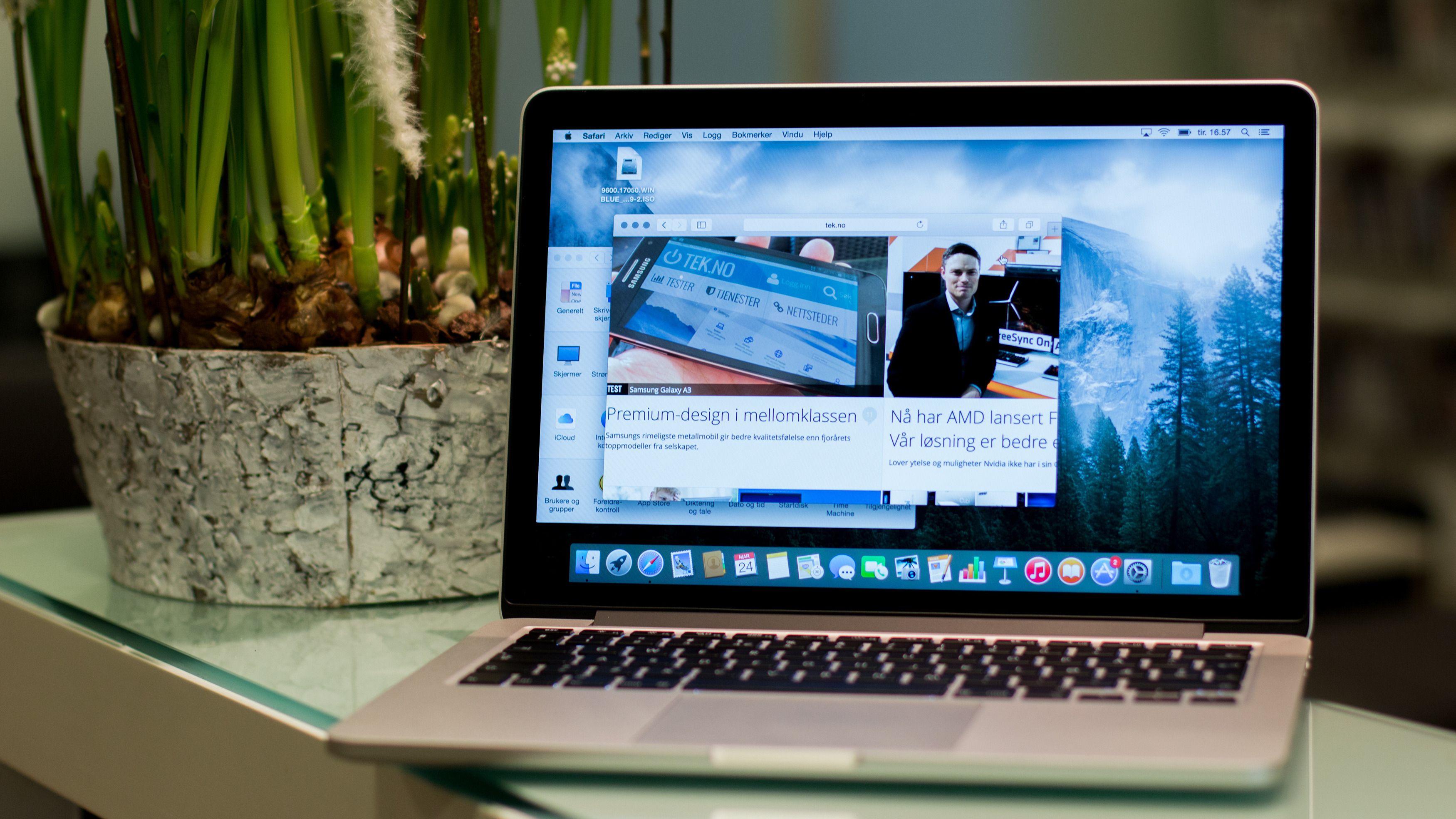 Apple MacBook Pro Retina 13 (Tidlig 2015)