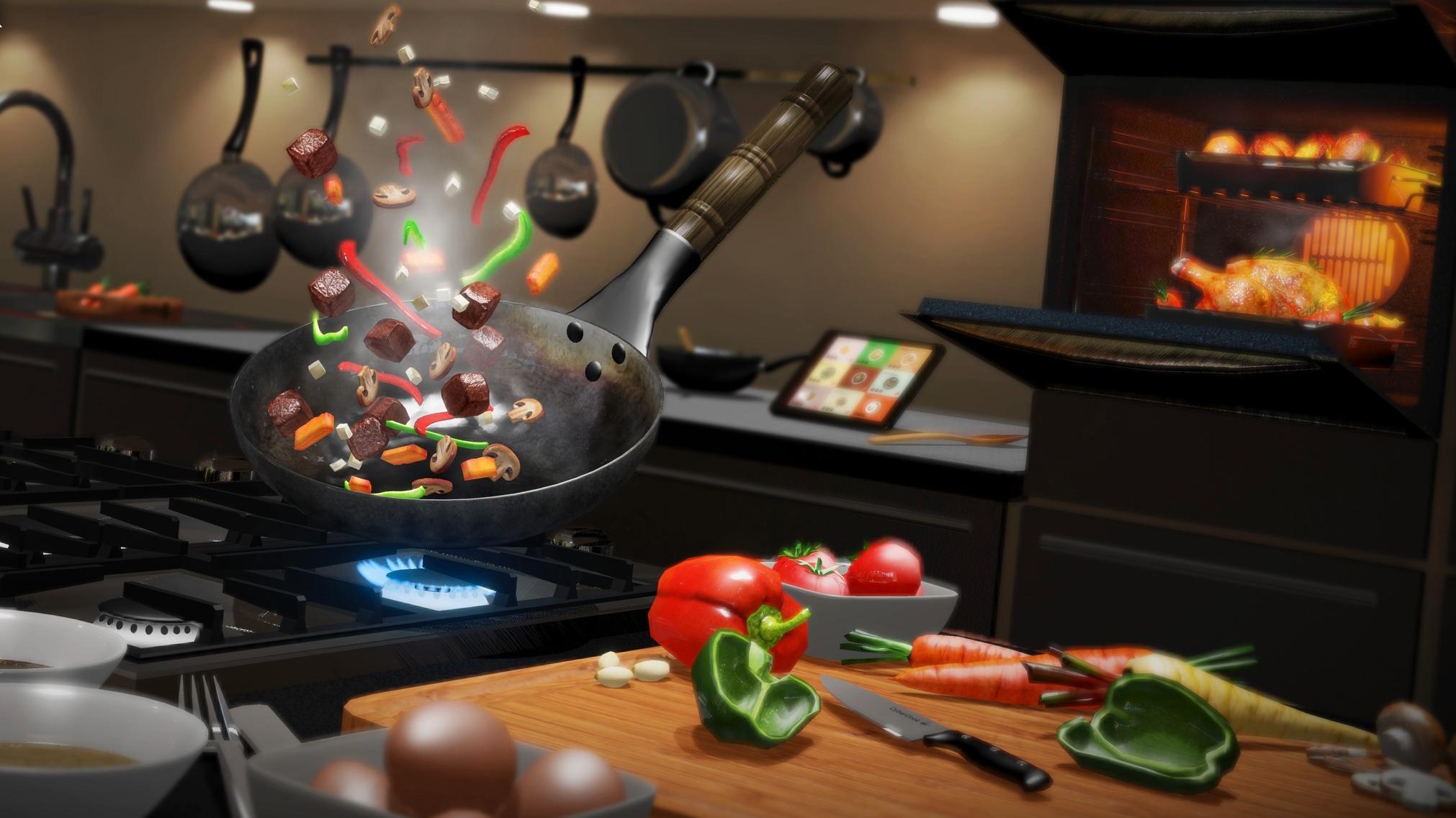 Lær å lage mat med «virtual reality»