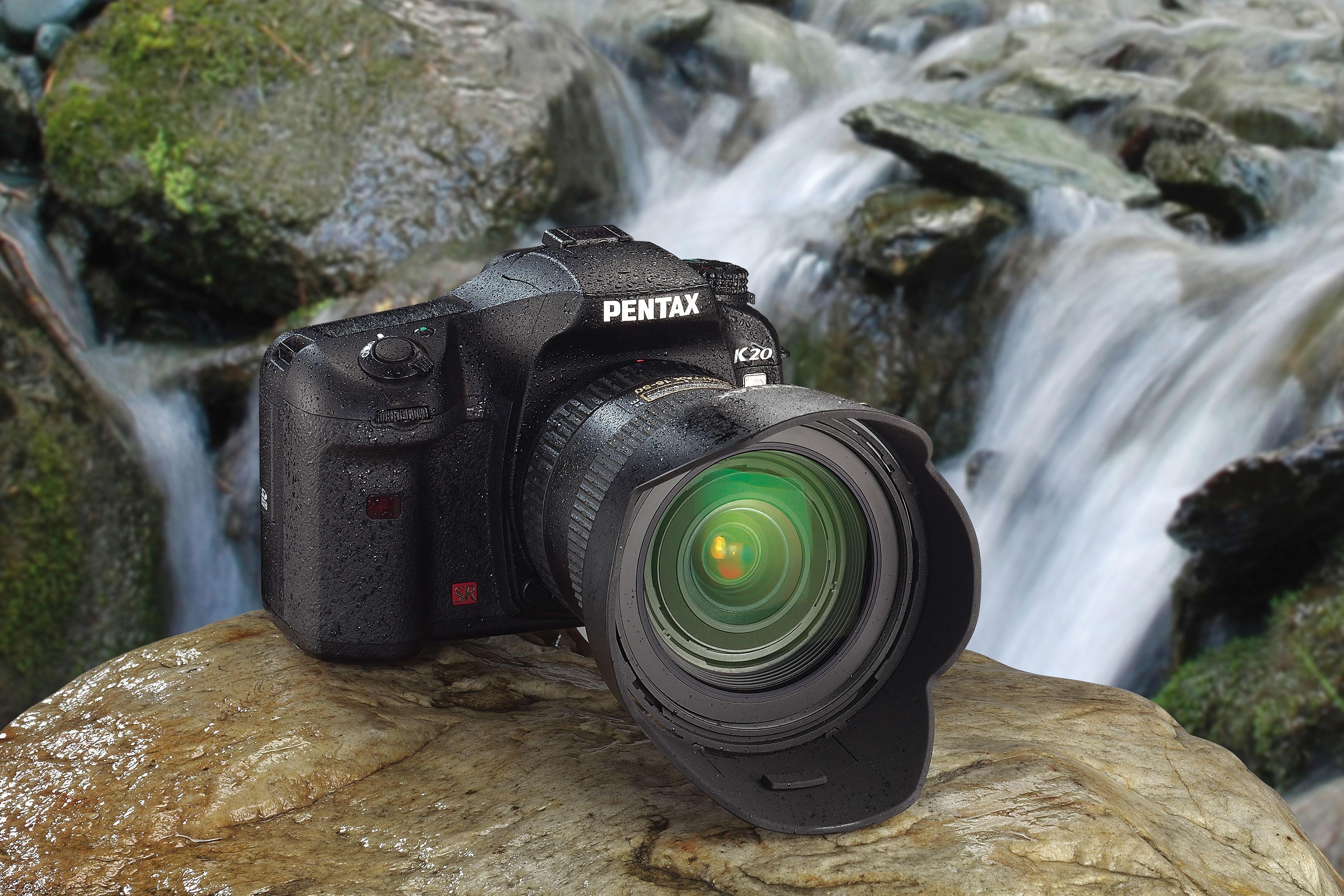 En vill Pentax K20D