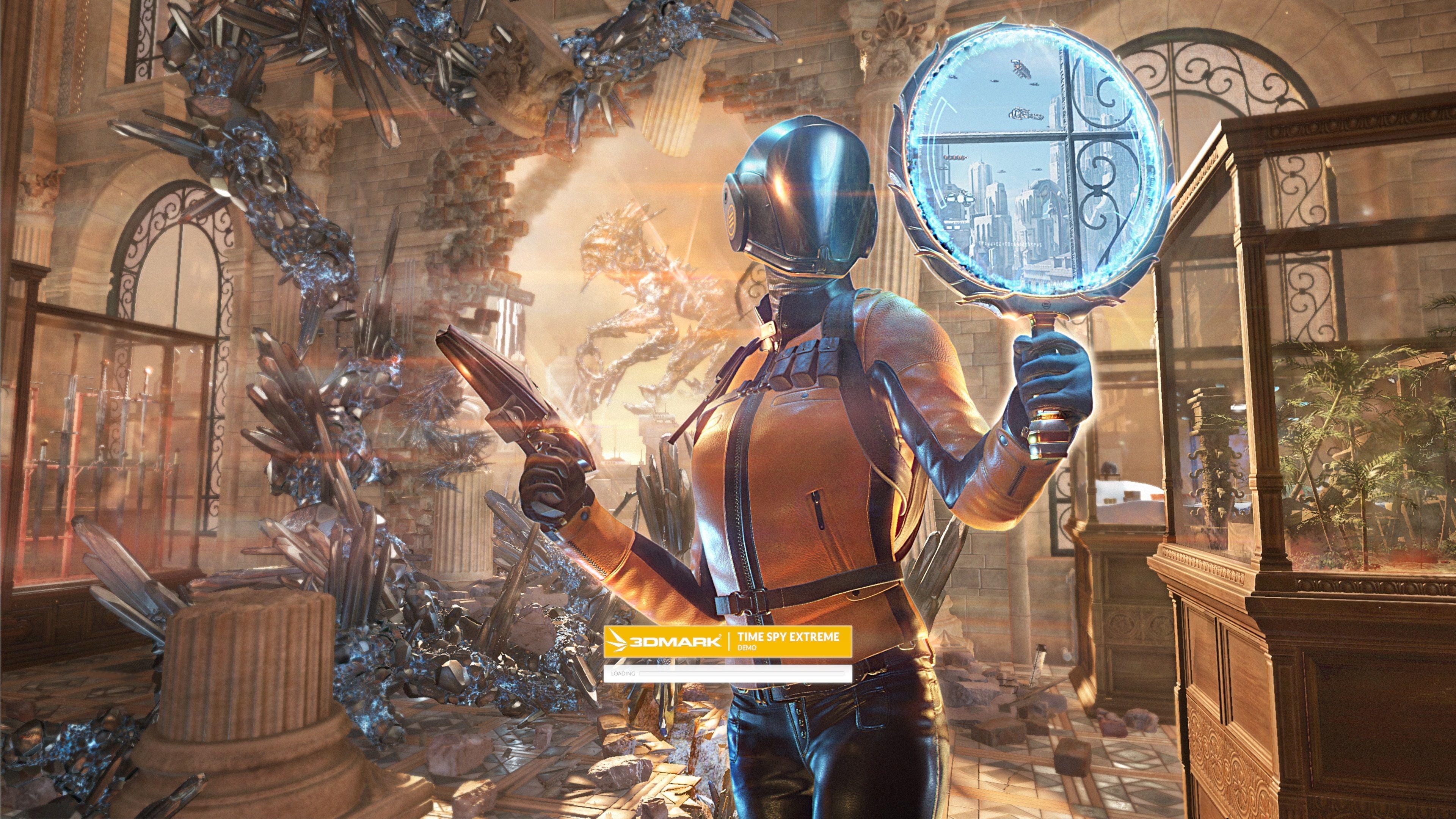 3DMark Time Spy Extreme skal sette de kraftigste kortene på prøve.