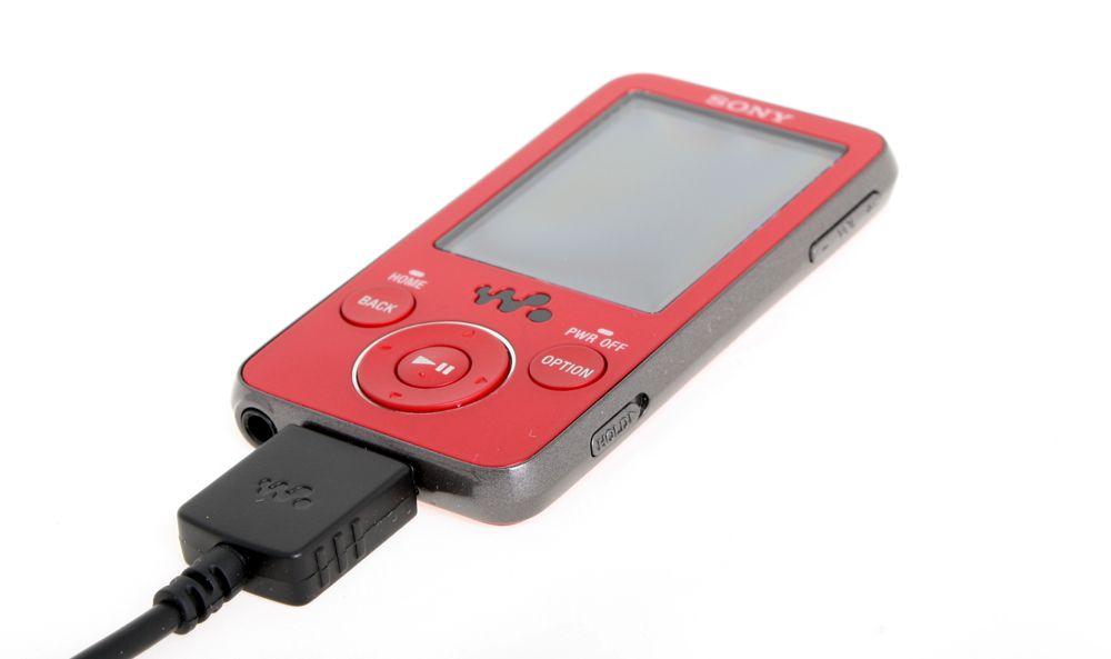 Sony F430 er en liten og nett MP3-spiller (alle foto: Marius Valle)