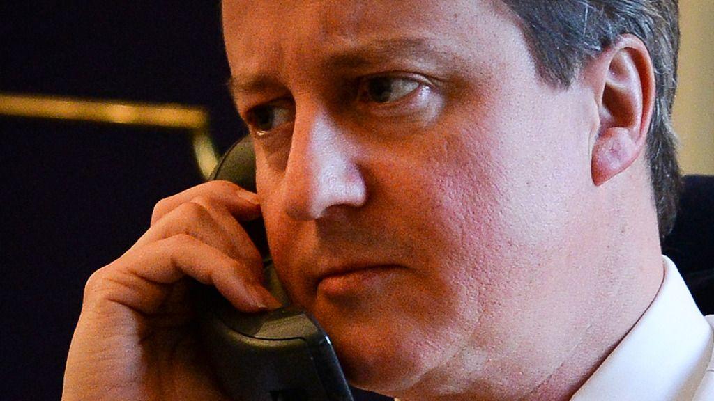 Mann i kokainrus bølleringte til statsminister Cameron
