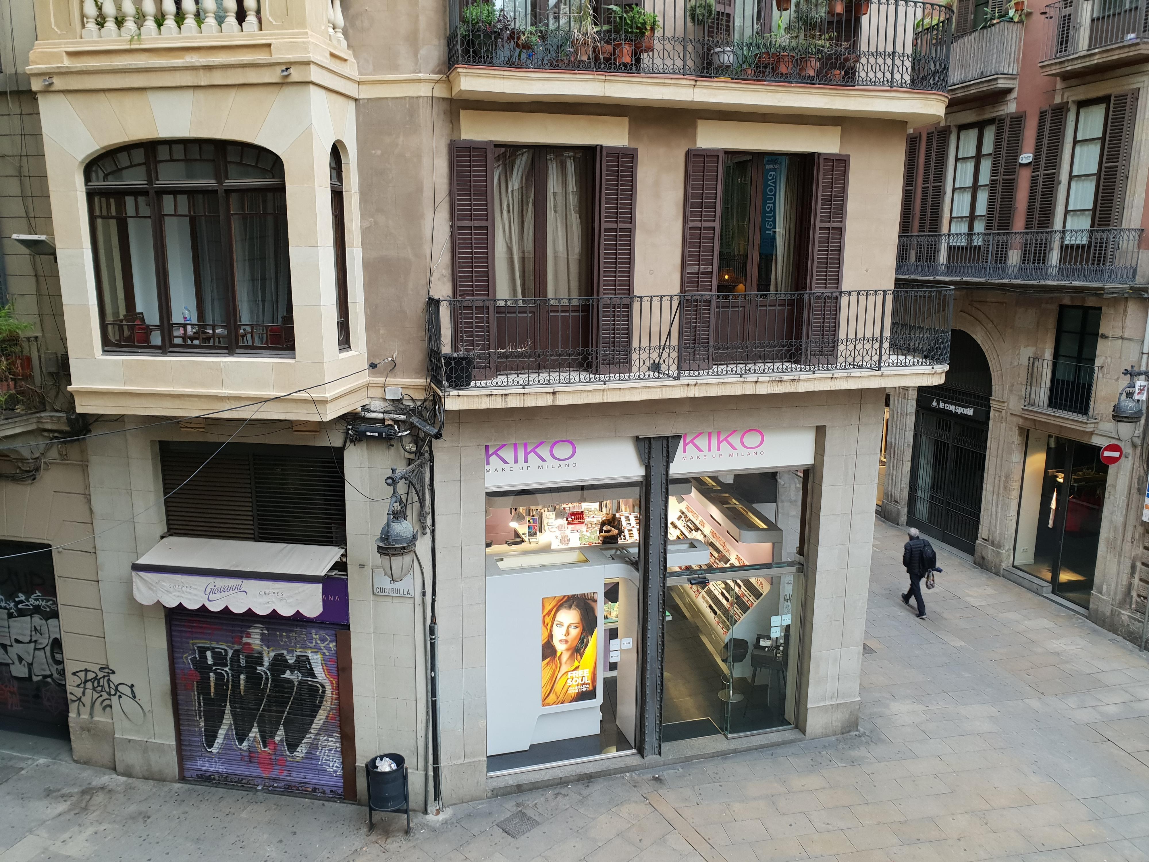 Nok et gatebilde fra Barcelona.