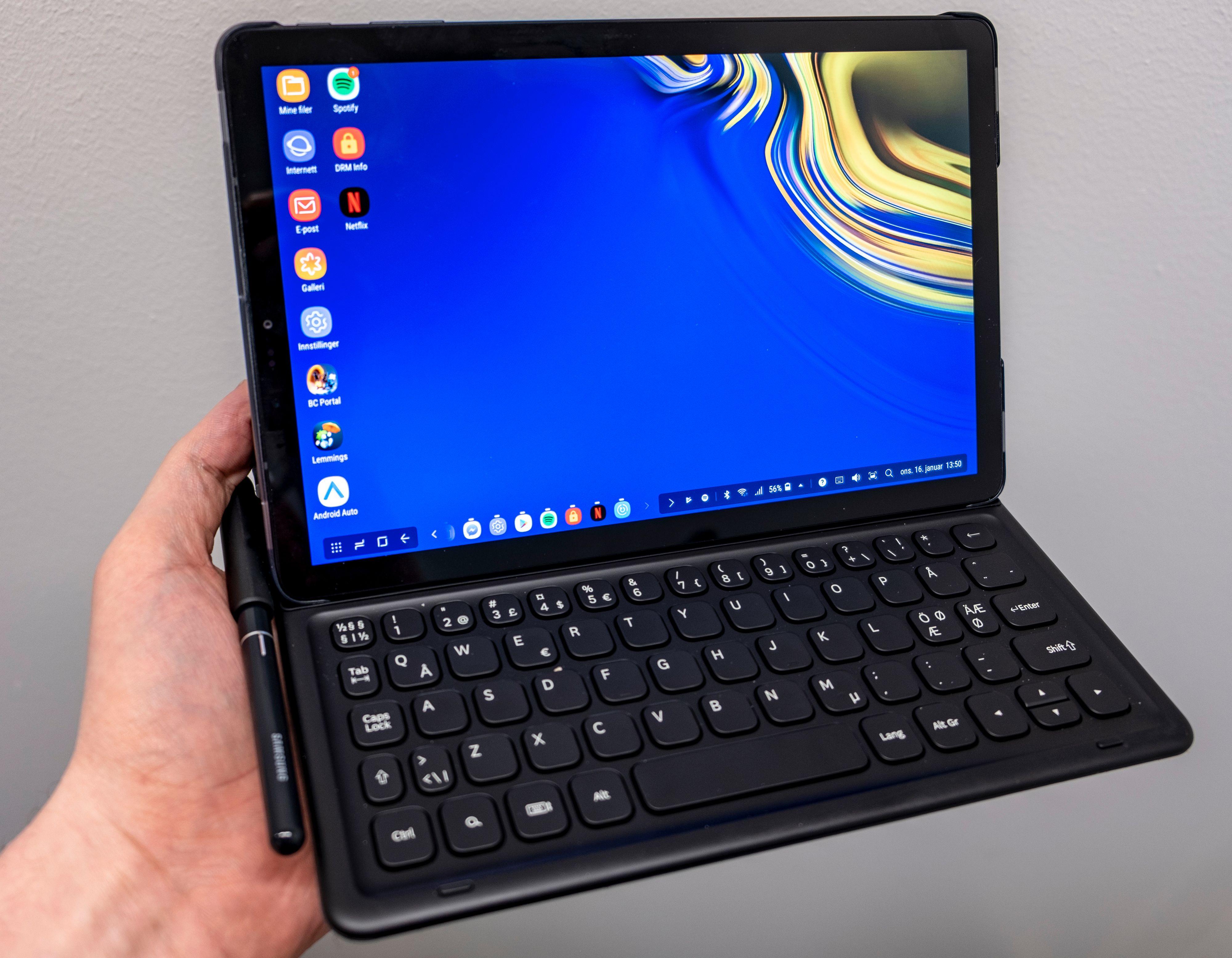 Av de to nesten like løsningene er Samsungs klart bedre i bruk, selv om Huawei-tastaturet har pekeplate.