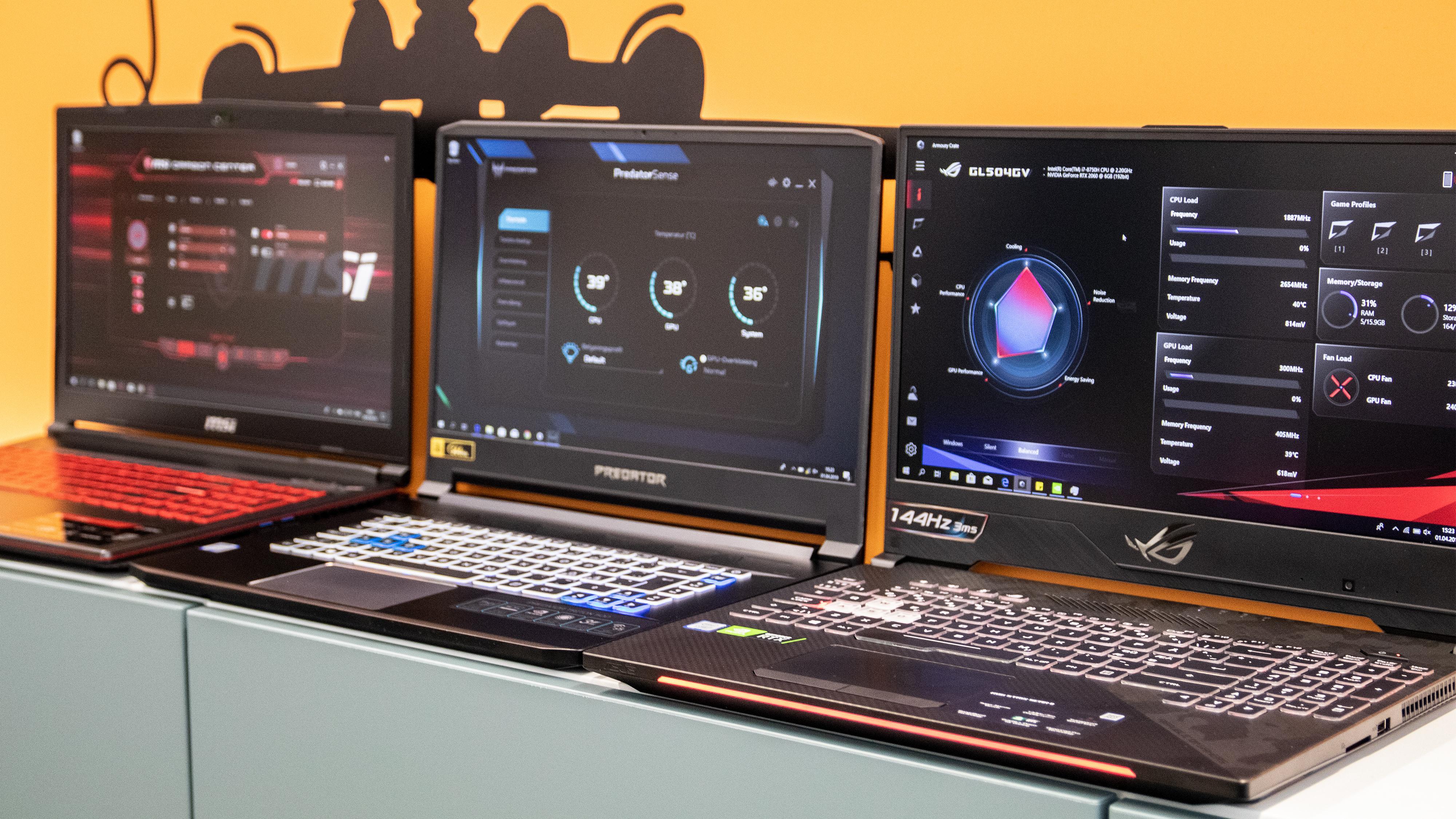 Spillbærbare med RTX 2060-grafikk