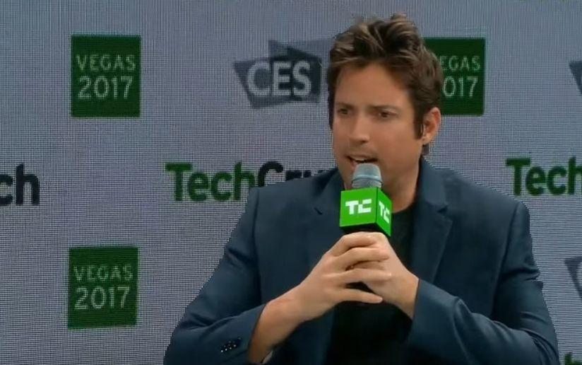 GoPro-sjefen Nick Woodman har bekreftet Hero6 og at selskapet trenger hyppigere lanseringer fremover. Her er han i et intervju med TechCrunch under CES-messen i år.