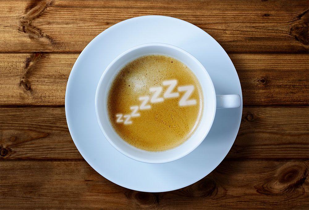 Kaffe + middagslur = sant.Foto: Shutterstock