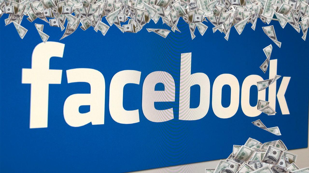 Nå innkasserer Facebook 400 millioner kroner i uka