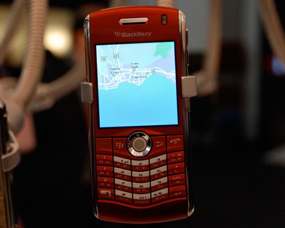GPS-funksjonen i 8110. (Klikk for større bilder)