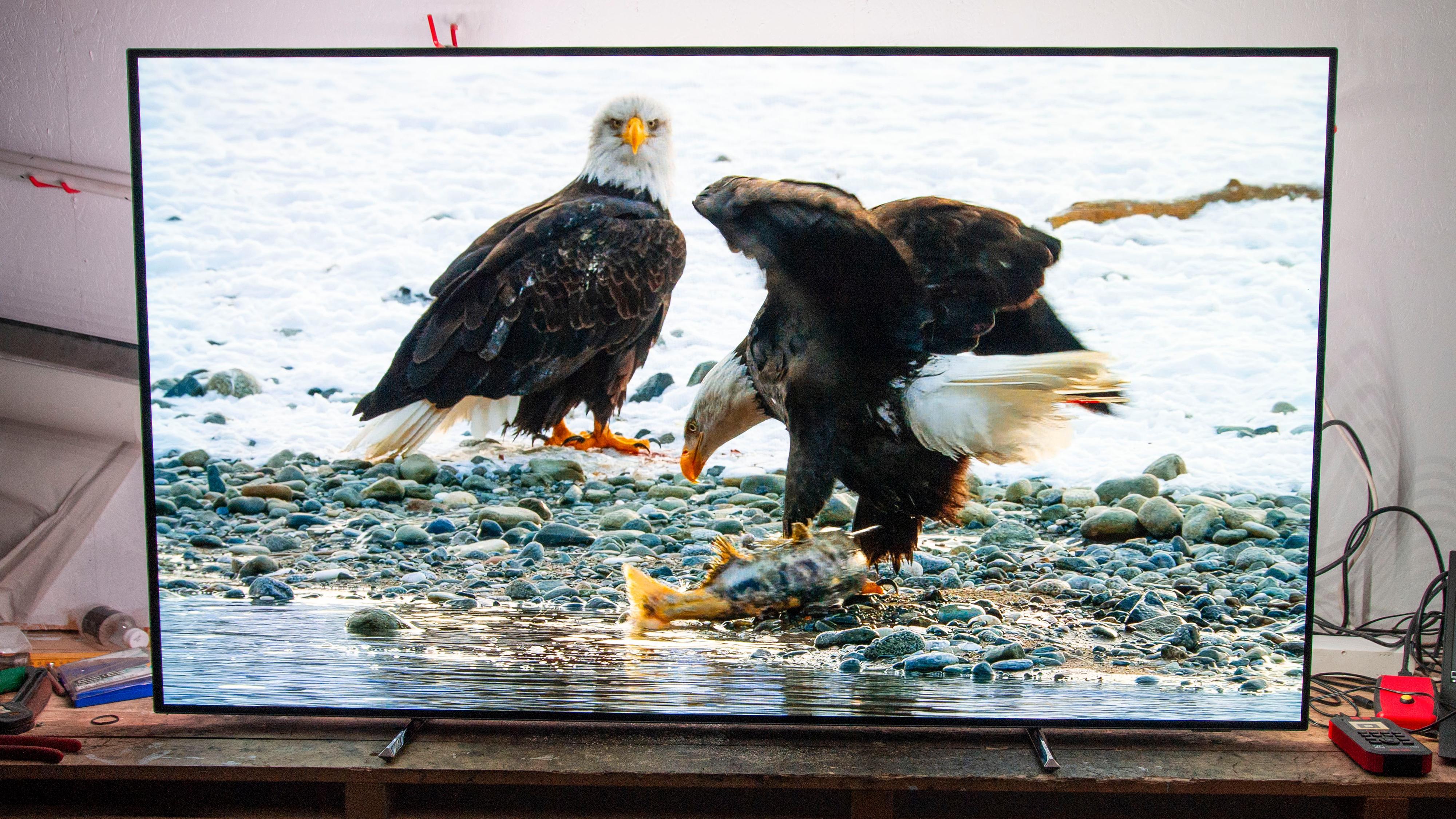 Kombinasjonen av god bildekvalitet og Ambilight kan gi mange timer med deilig TV-titting.