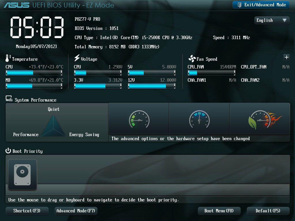 BIOS lar deg justere det meste av innstillinger som angår de ulike komponentene i maskinen din.