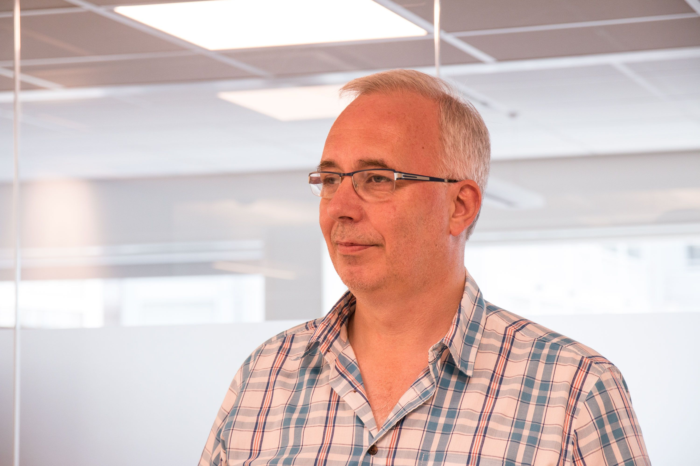 Kjell Holter, teknisk rådgiver i Jernbaneverket.Foto: Jørgen Elton Nilsen, Hardware.no