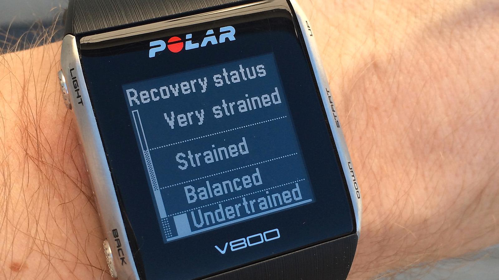 Her viser klokken at jeg har fått for lite trening i det siste. Ikke annet å gjøre enn å snøre på seg joggeskoene!