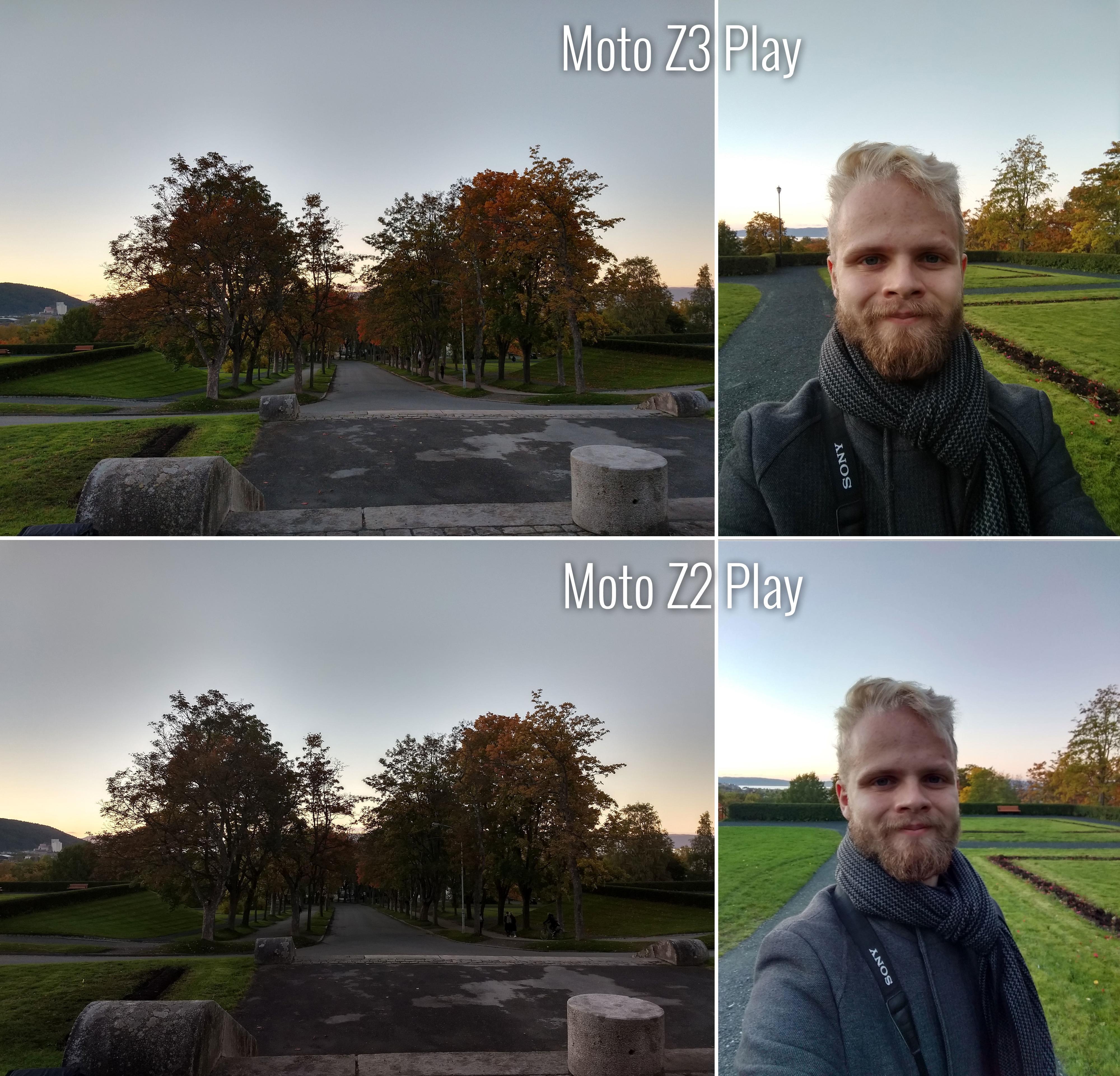 Kameraene er et godt stykke over de vi fant i Z2 Play.