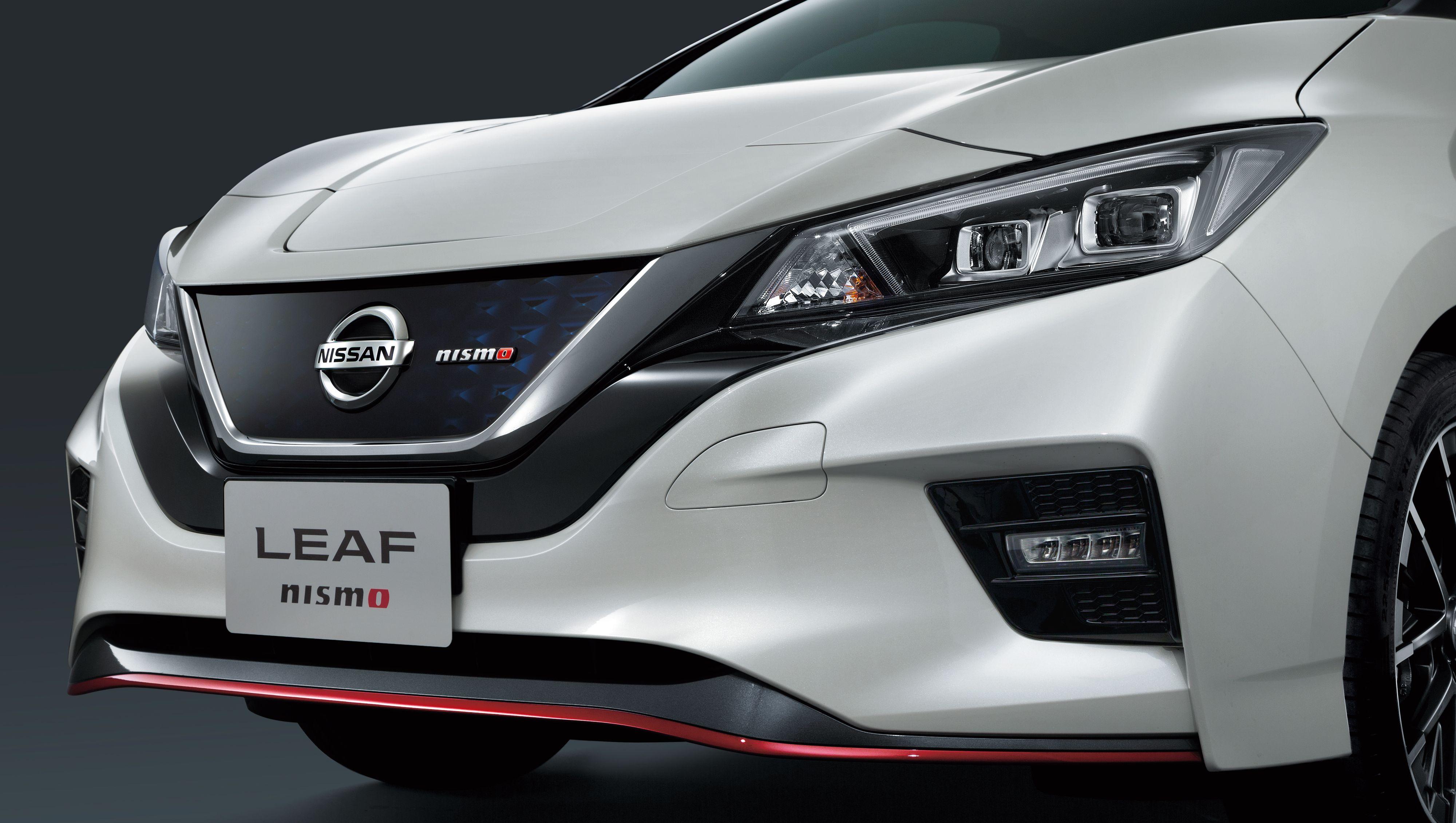 Nissan Leaf Nismo har redesignet grill, blant annet.