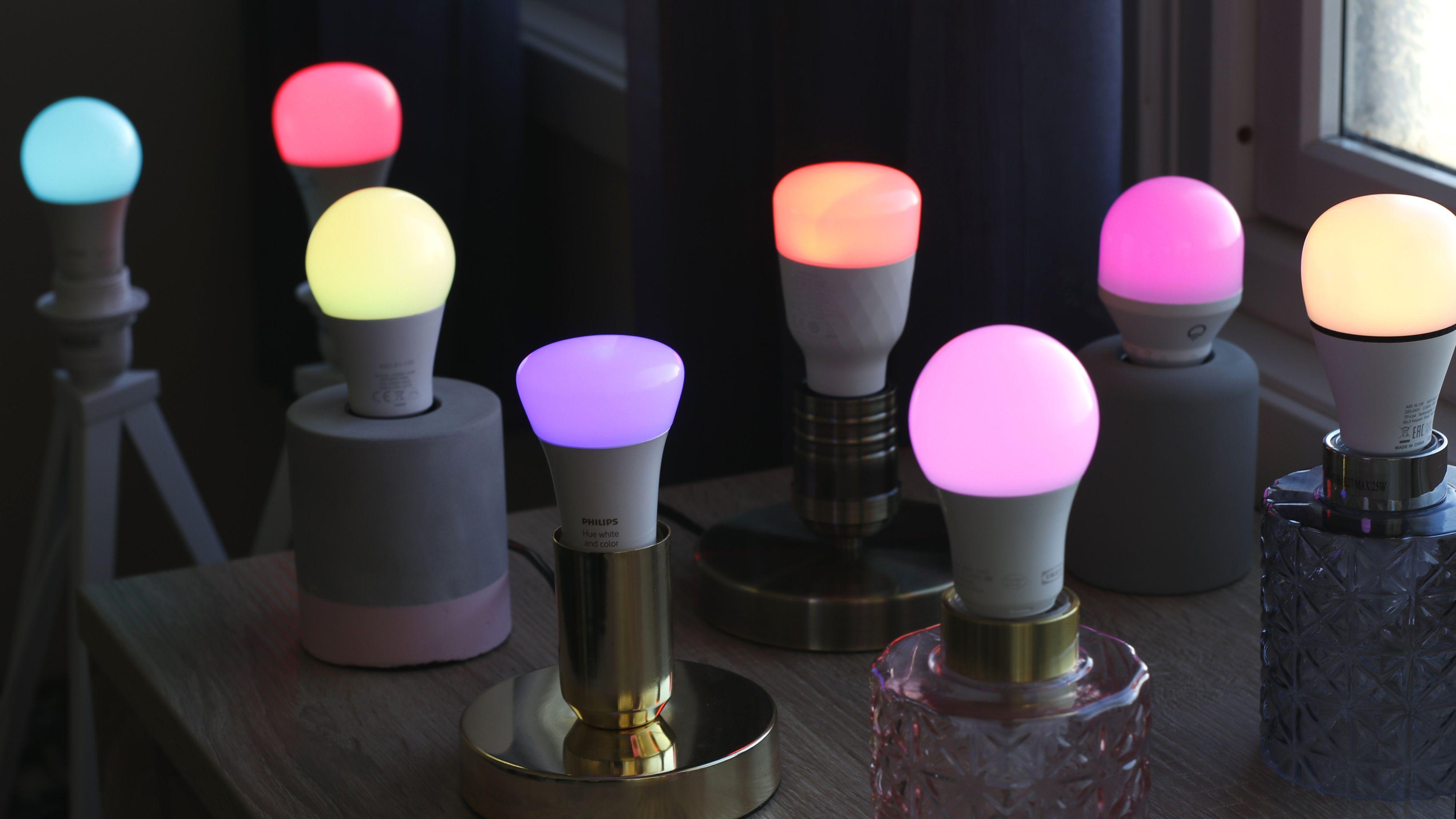 Fargede smartlys kan være gjevt, men ikke nødvendigvis så nyttig kostnadene tatt i betraktning.