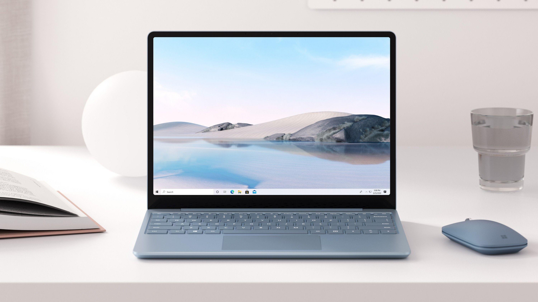 Surface Laptop Go er en mindre og rimeligere bærbar PC.