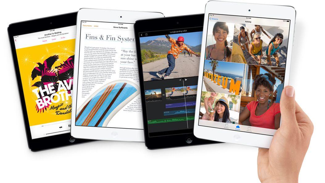 iPad Mini med retinaskjerm. Foto: Apple.