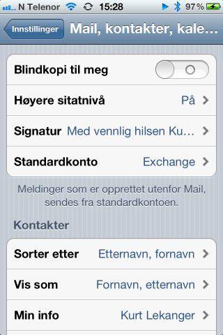 """Lei """"- Sendt fra min iPhone""""? Det er lett å bytte den ut med noe annet."""