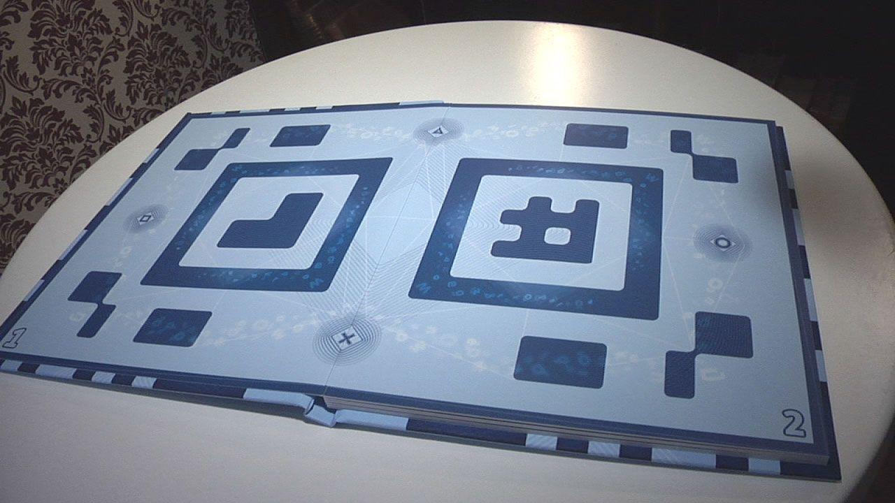 KRYPTISK: Slik ser Wonderbook ut i virkeligheten...Foto: Rolf Magnus W. Sæther