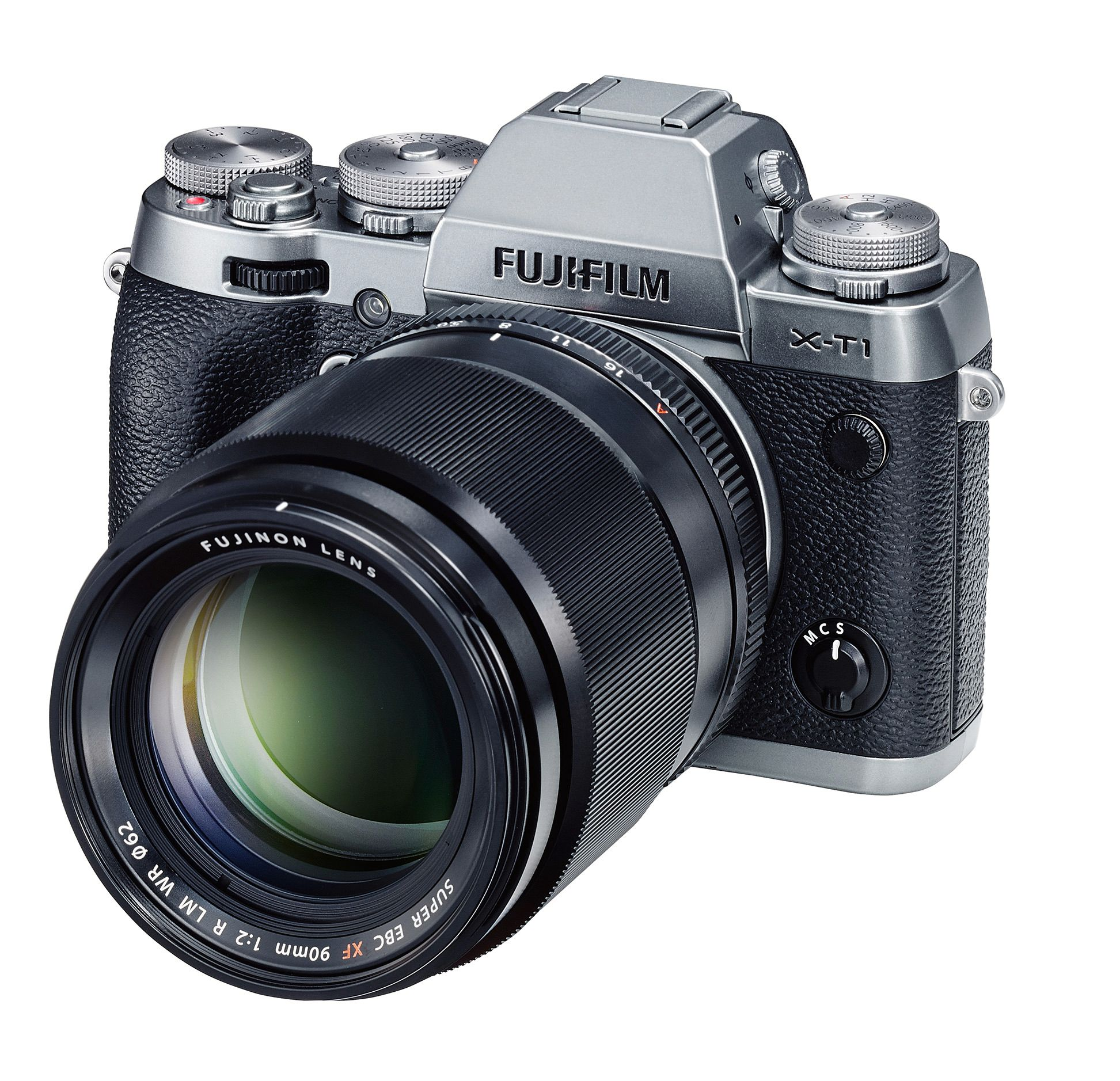 Fujinon XF 90mm på en X-T1 GS. Foto: Fujifilm