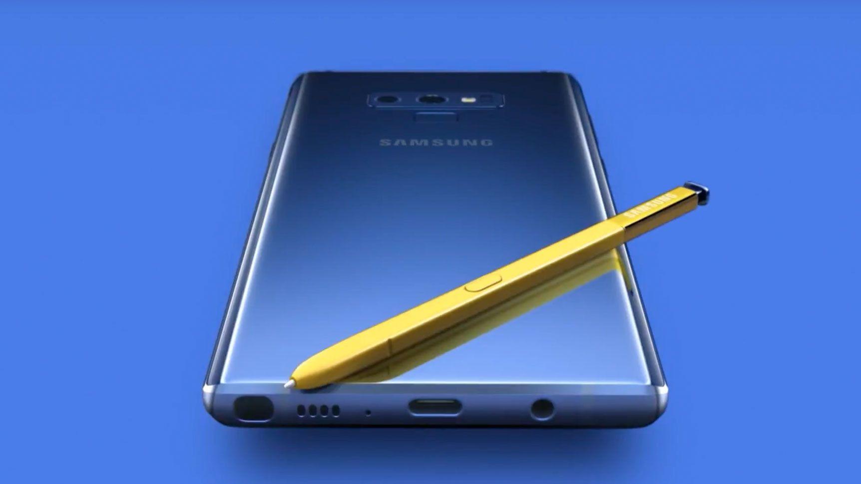 Avslørt av offisiell video: Dette er Galaxy Note 9
