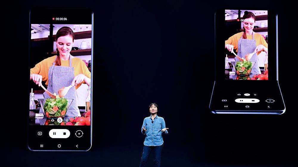 Samsung viste frem en helt ny type brettemobil