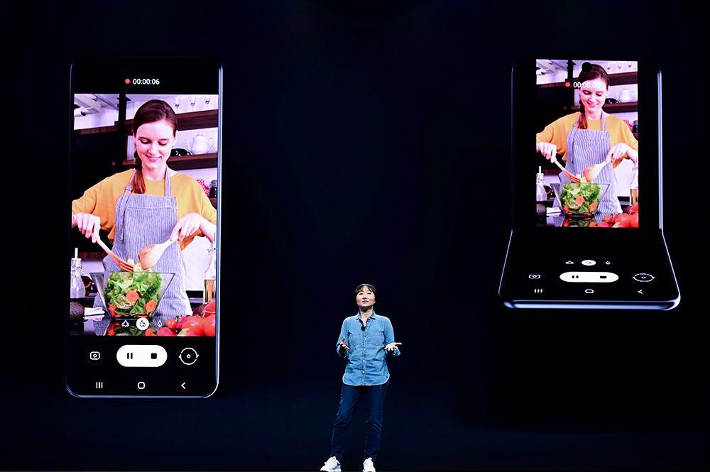 Samsung snakket om One UI-menyene sine og om nye formfaktorer under SDC i San Jose. En flipptelefon kan bli neste nye bøyelige mobil fra selskapet.