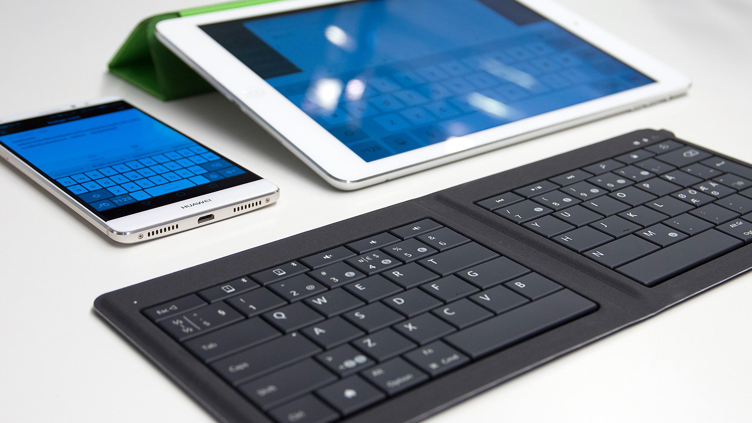 Dette Bluetooth-tastaturet er genialt