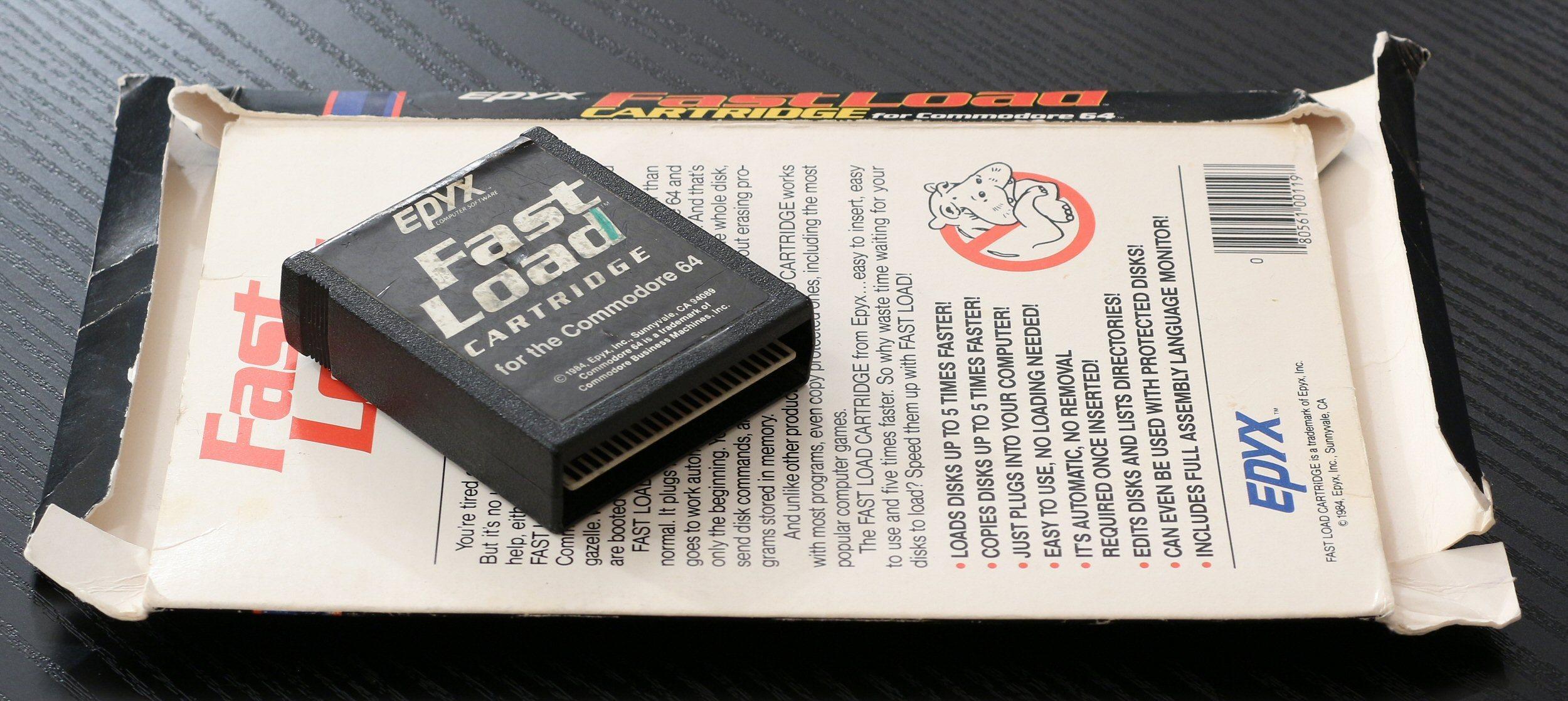 Epyx' Fast Load Cartridge kunne få opp farten på Commodores diskettstasjon. Foto: Vegar Jansen, Tek.no