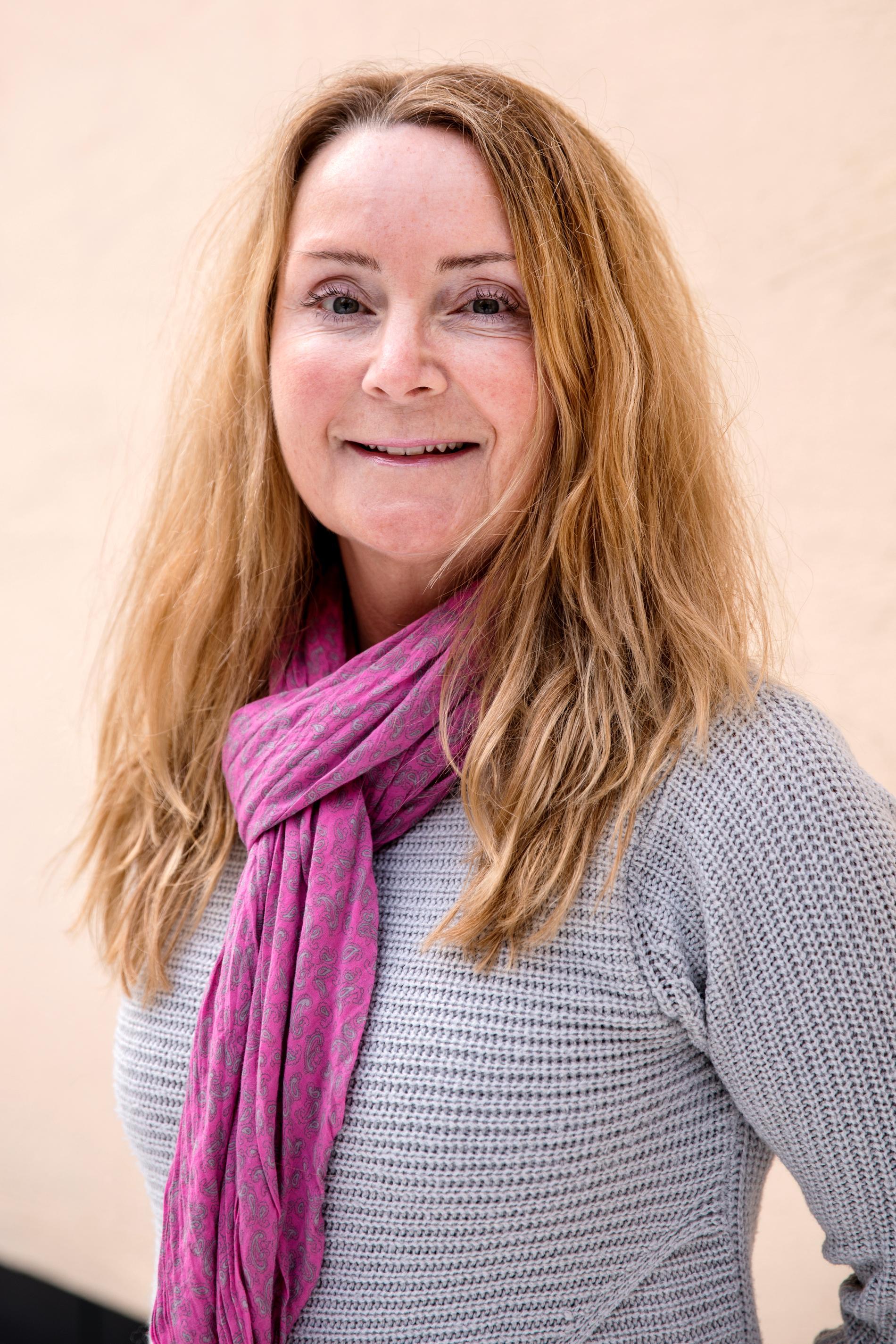 Barnmorskan Therese Zetterqvist Eriksson som jobbar på UMO.se.