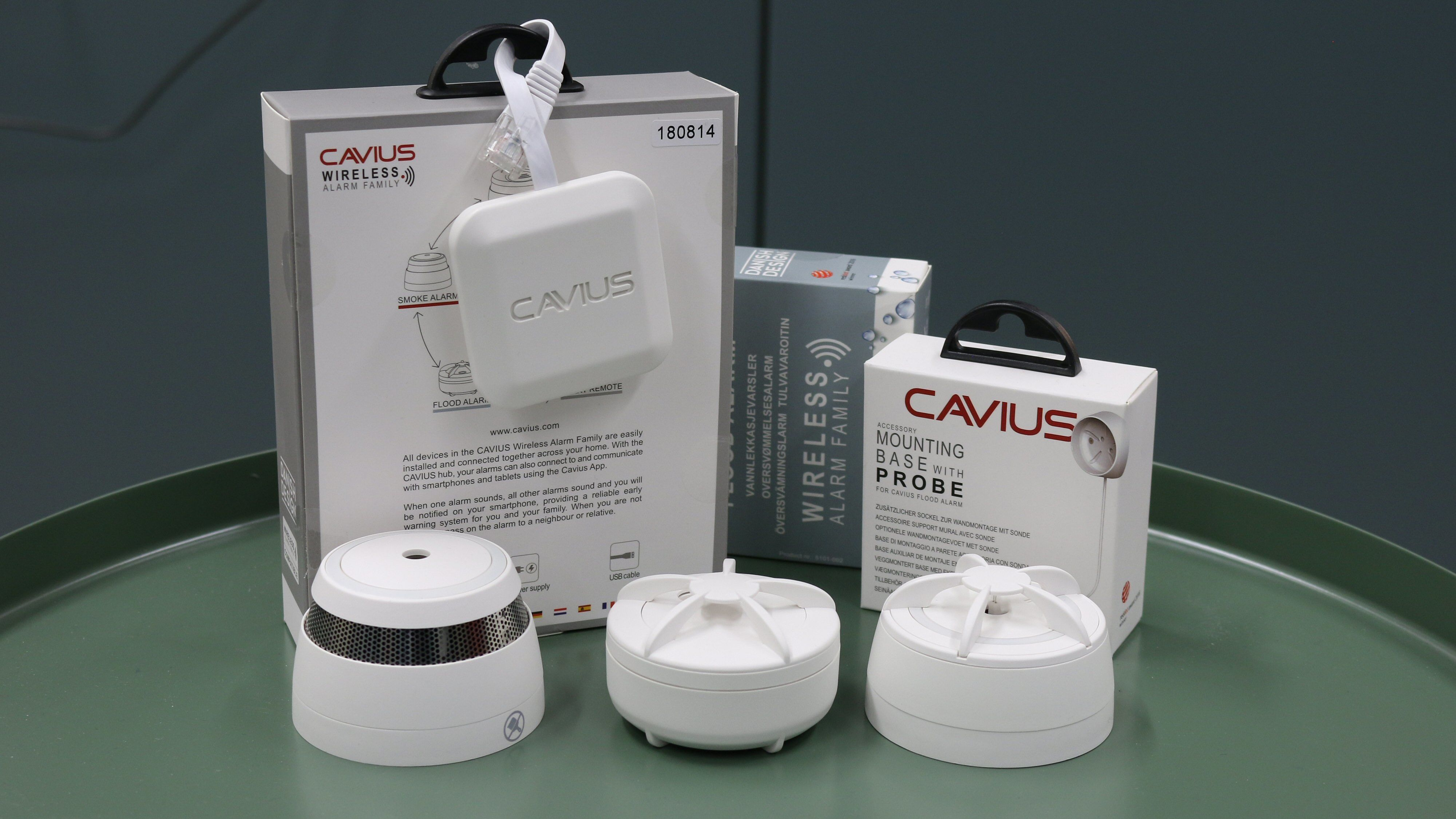 Cavius Wireless Alarm Family / Hub