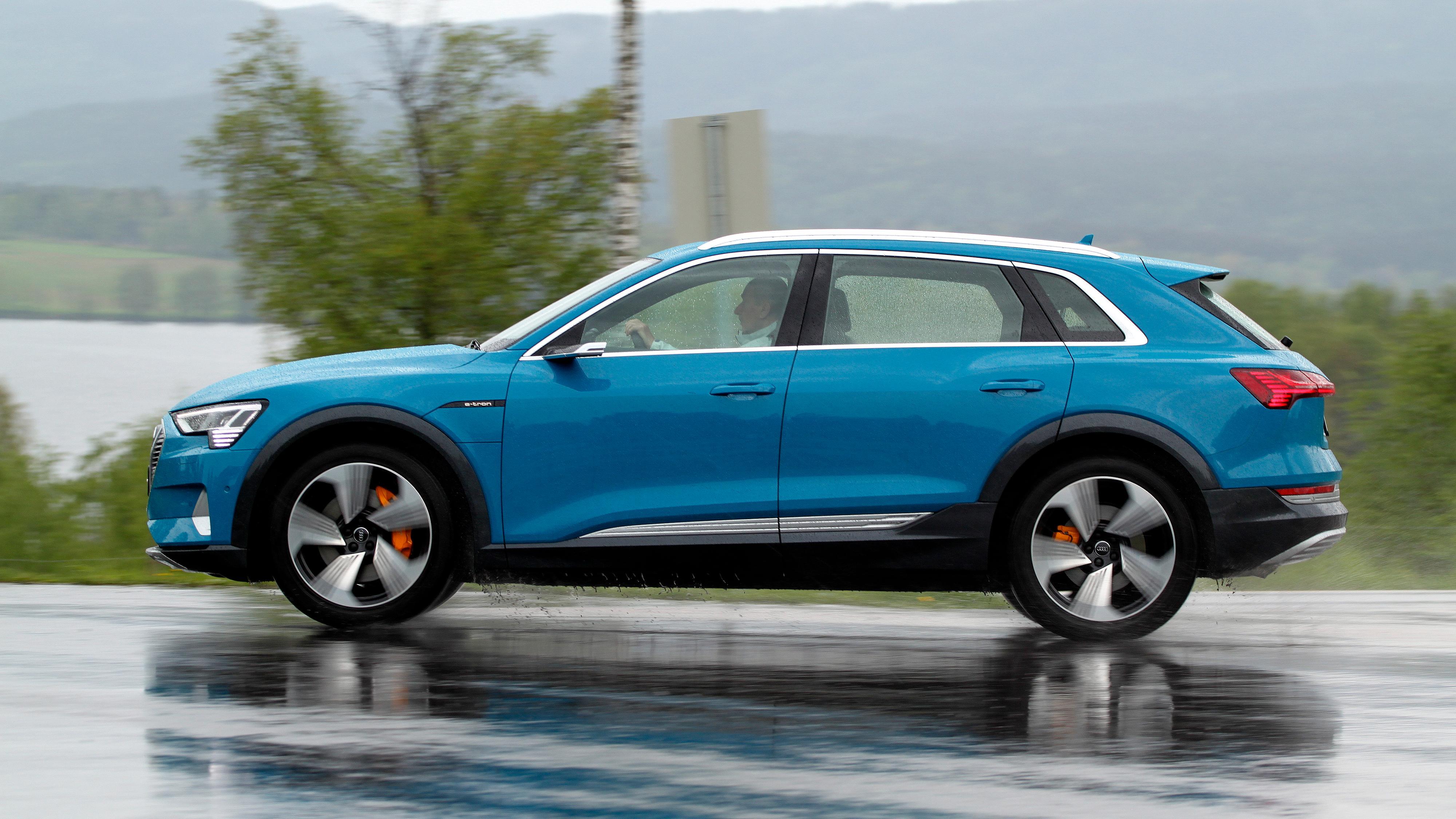 Audi e-tron har størst appetitt på strøm, skal vi tro kartleggingen til Tibber.