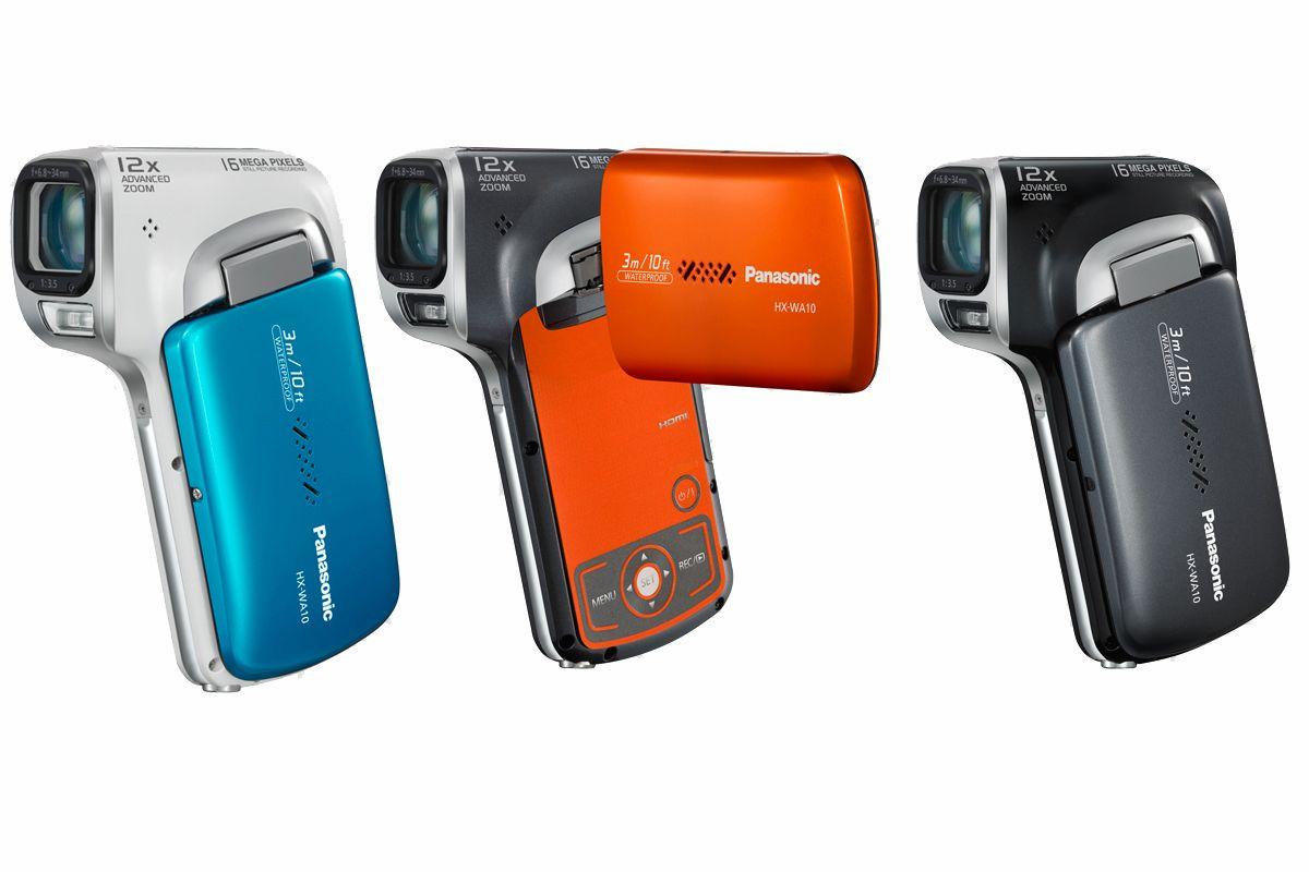 Panasonic WA10 kommer i tre forskjellige farger.