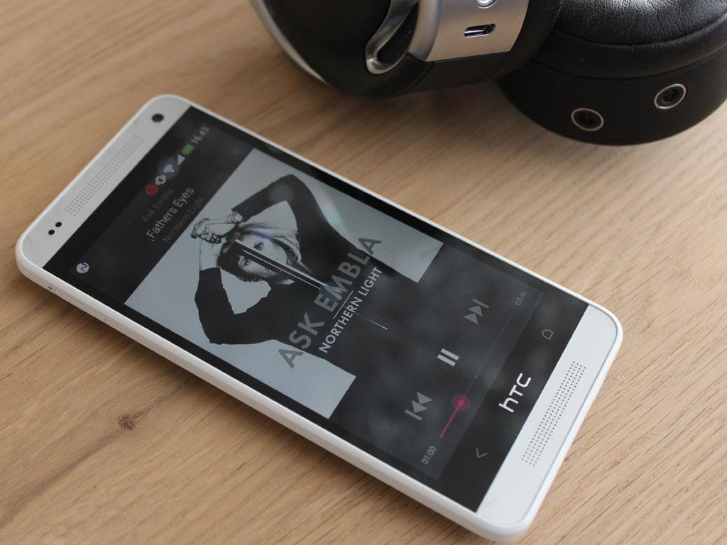 Musikkspilleren i HTC One Mini er knallbra.Foto: Espen Irwing Swang, Amobil.no
