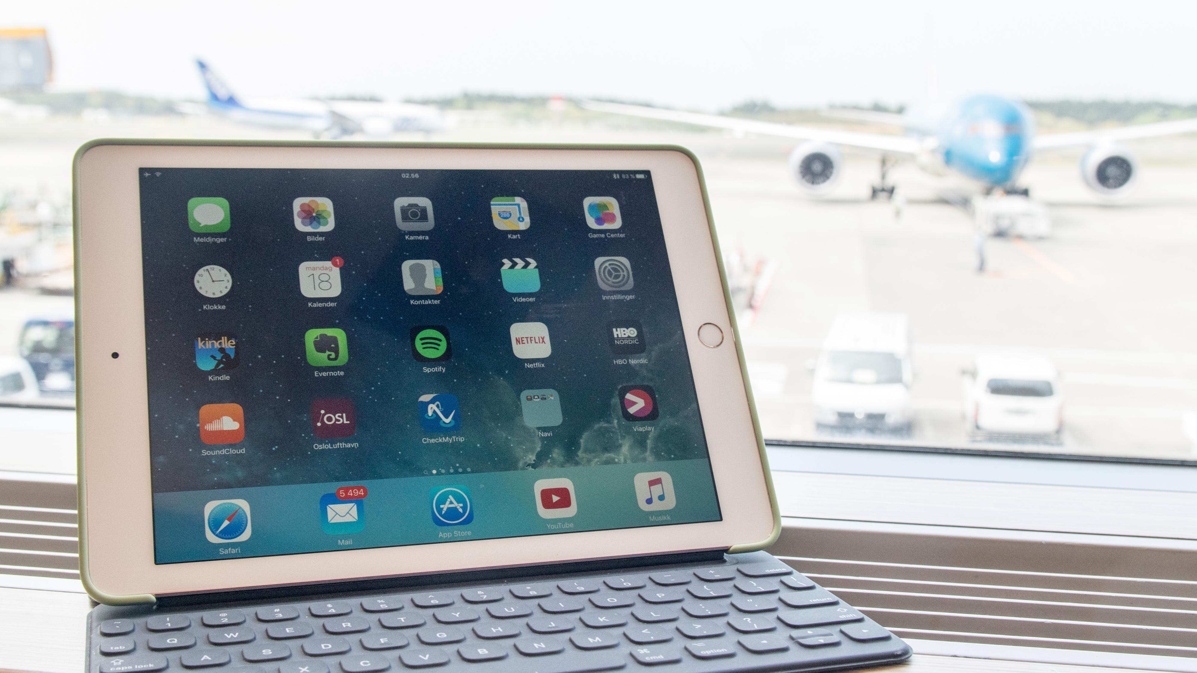 iPadene ble også oppgradert i går