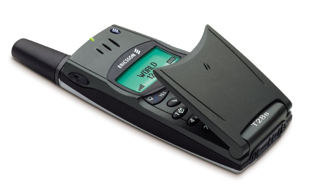 T28 markerte et stilskifte for Ericsson. Den ble lansert som noe utenomjordisk, ledsaget av reklamekampanjer med romvesener.