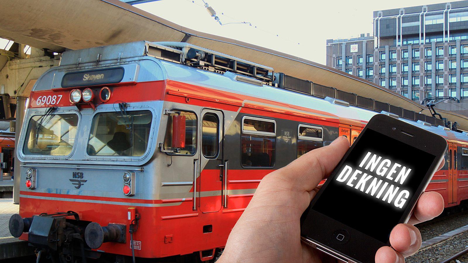 – Mobildekning på tog kan drøye i årevis
