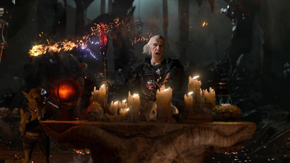 Teknologi-demo for PS4 av The Dark Sorcerer.Foto: Quantic Dreams