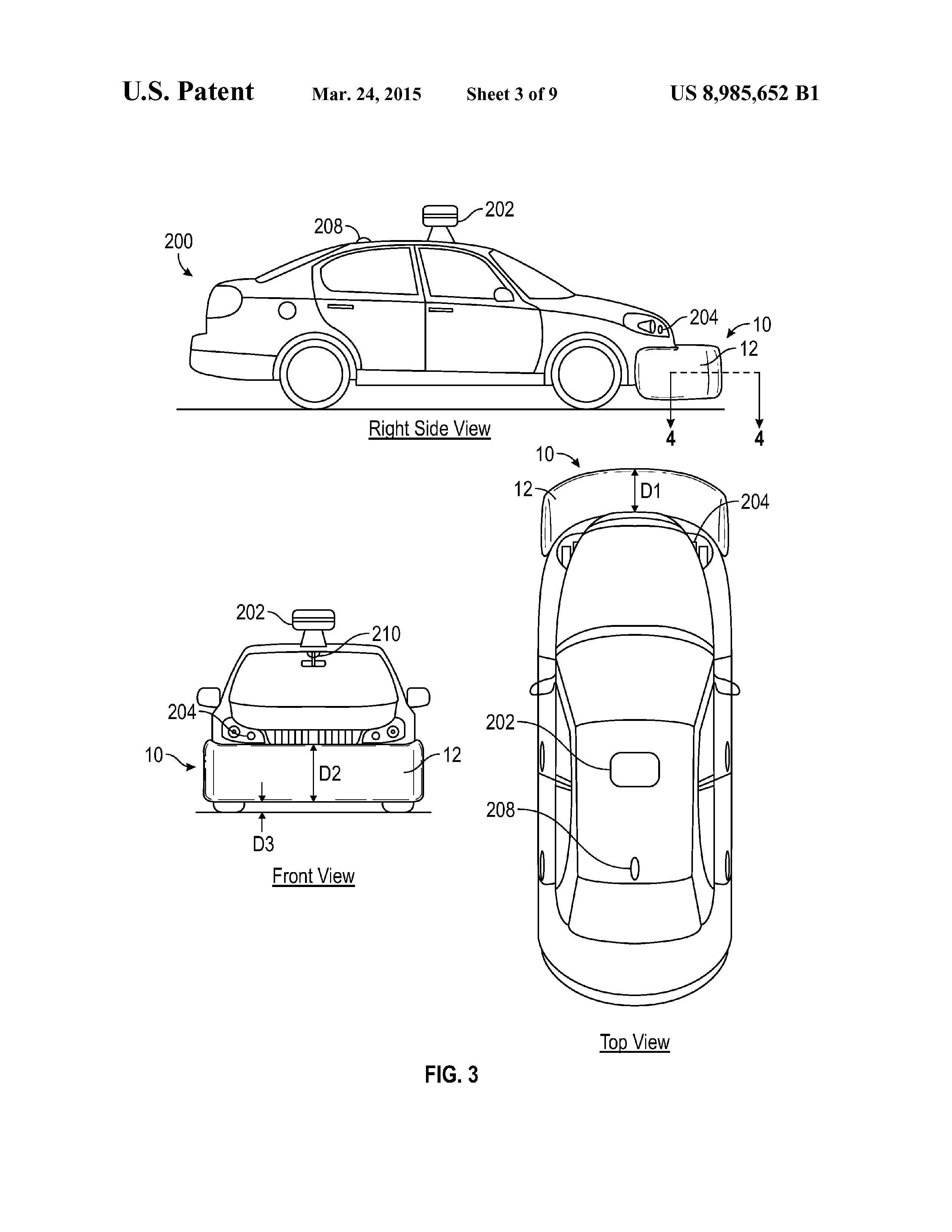 Illustrasjon fra patentdokumentet. Foto: USPTO