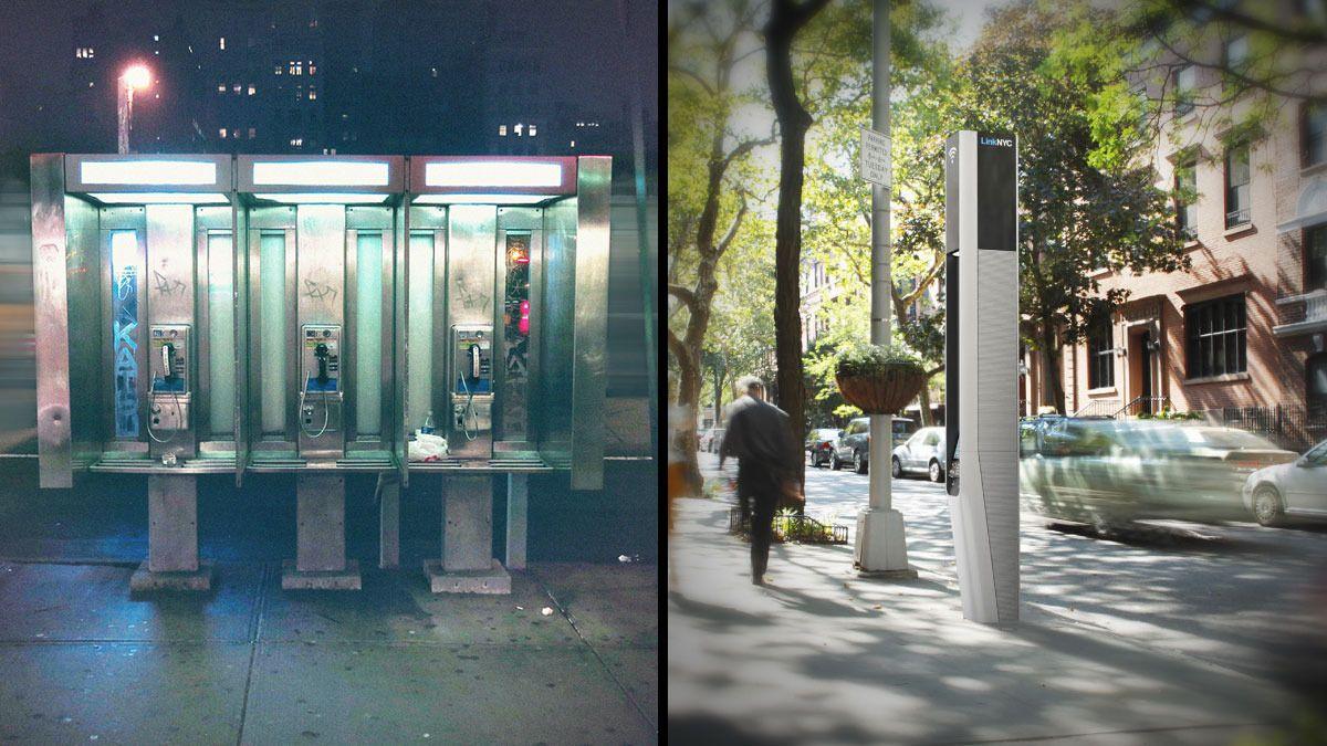 Her erstatter de telefonkioskene med Wi-Fi-stasjoner