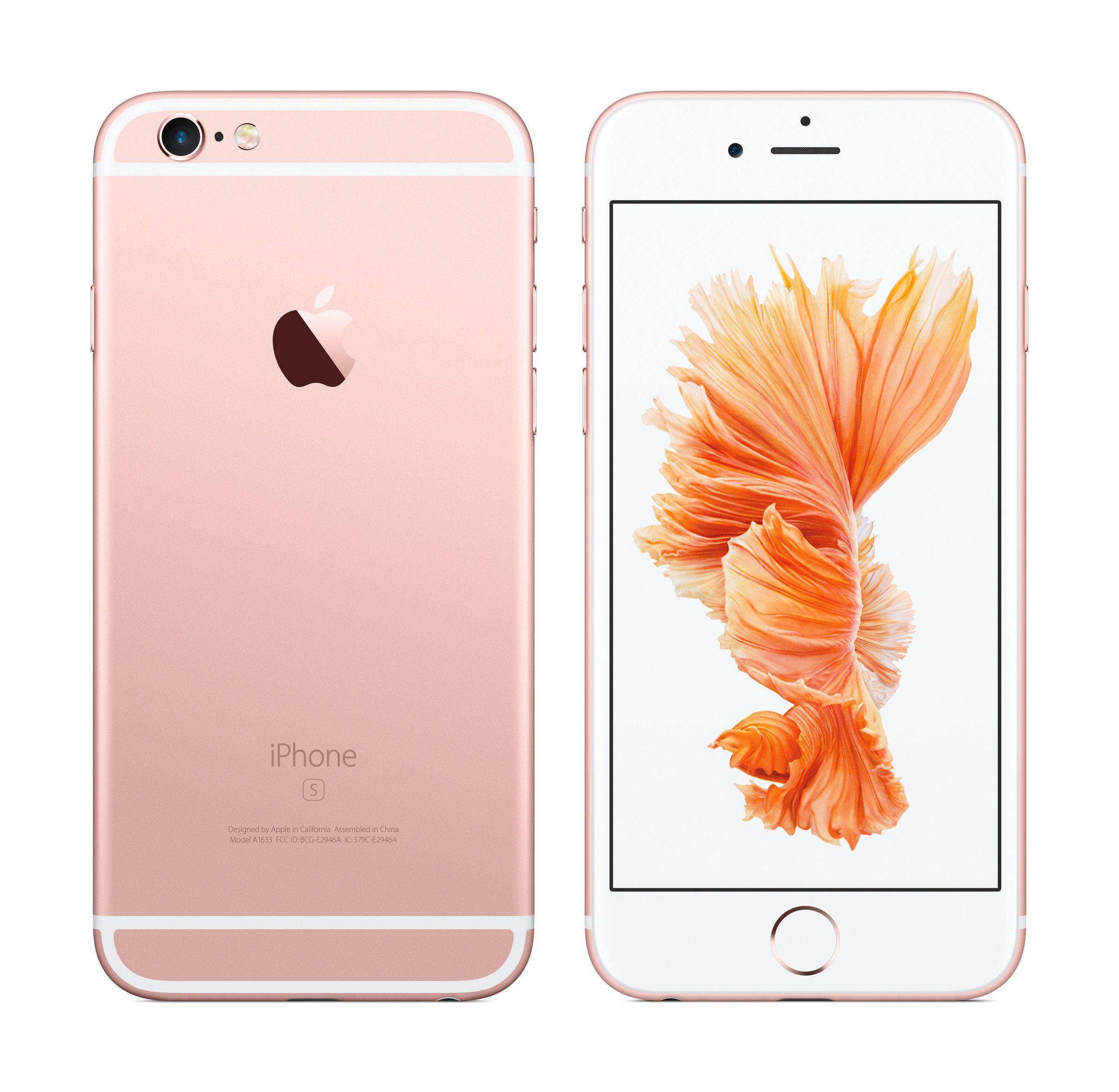 iPhone 6S vil også komme i rosa – eller «Rose Gold», som Apple kaller fargen. Foto: Apple