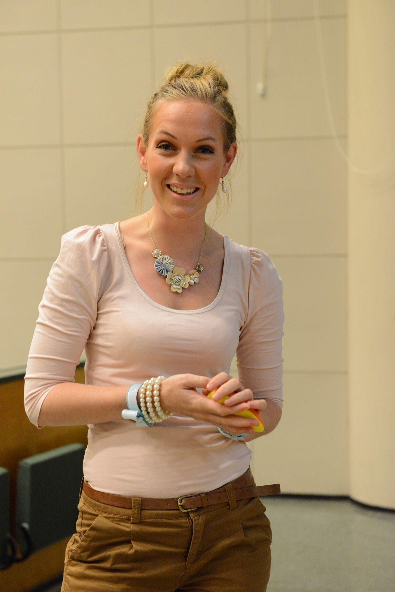 Sunniva Rose, norsk thoriumforsker.Foto: Hilde Lynnebakken, UiO