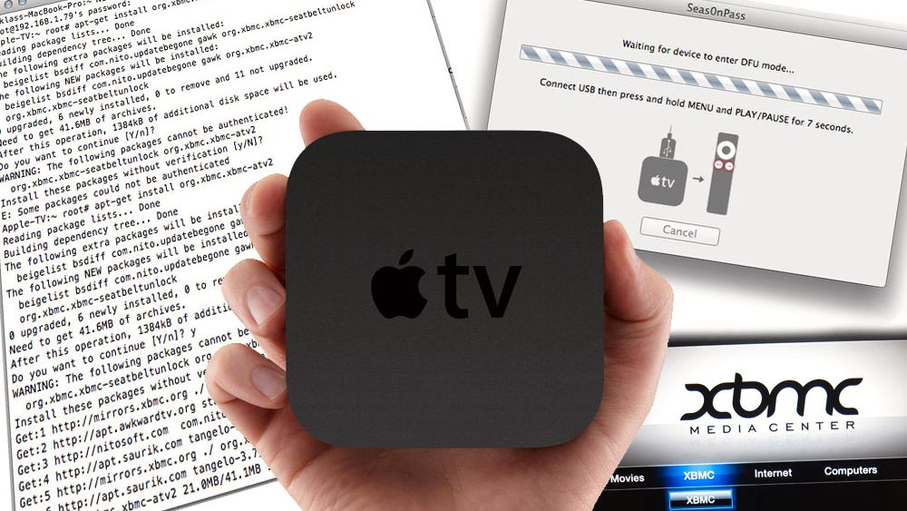 Vi har jailbreaket Apple TV