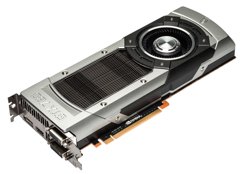 Nvidia GeForce GTX 780 er til forveksling likt GTX Titan, og benytter akkurat samme kjøler.Foto: Nvidia