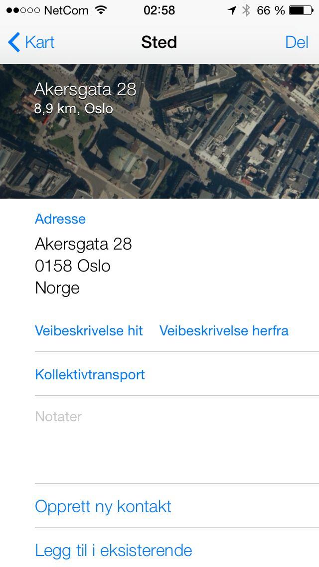 Apples Maps blir stadig bedre, og menyene i kart-appen har fått ny design.