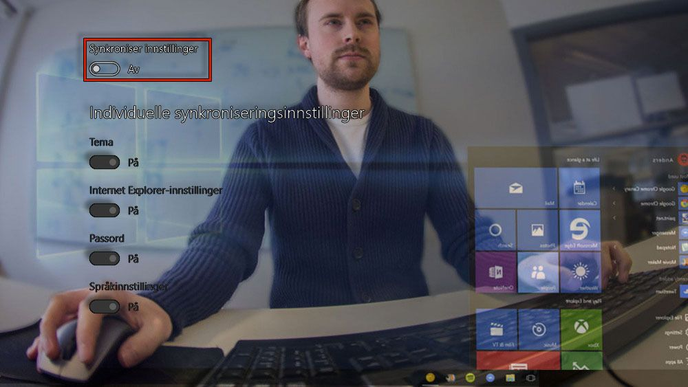 Personvern i Windows 10