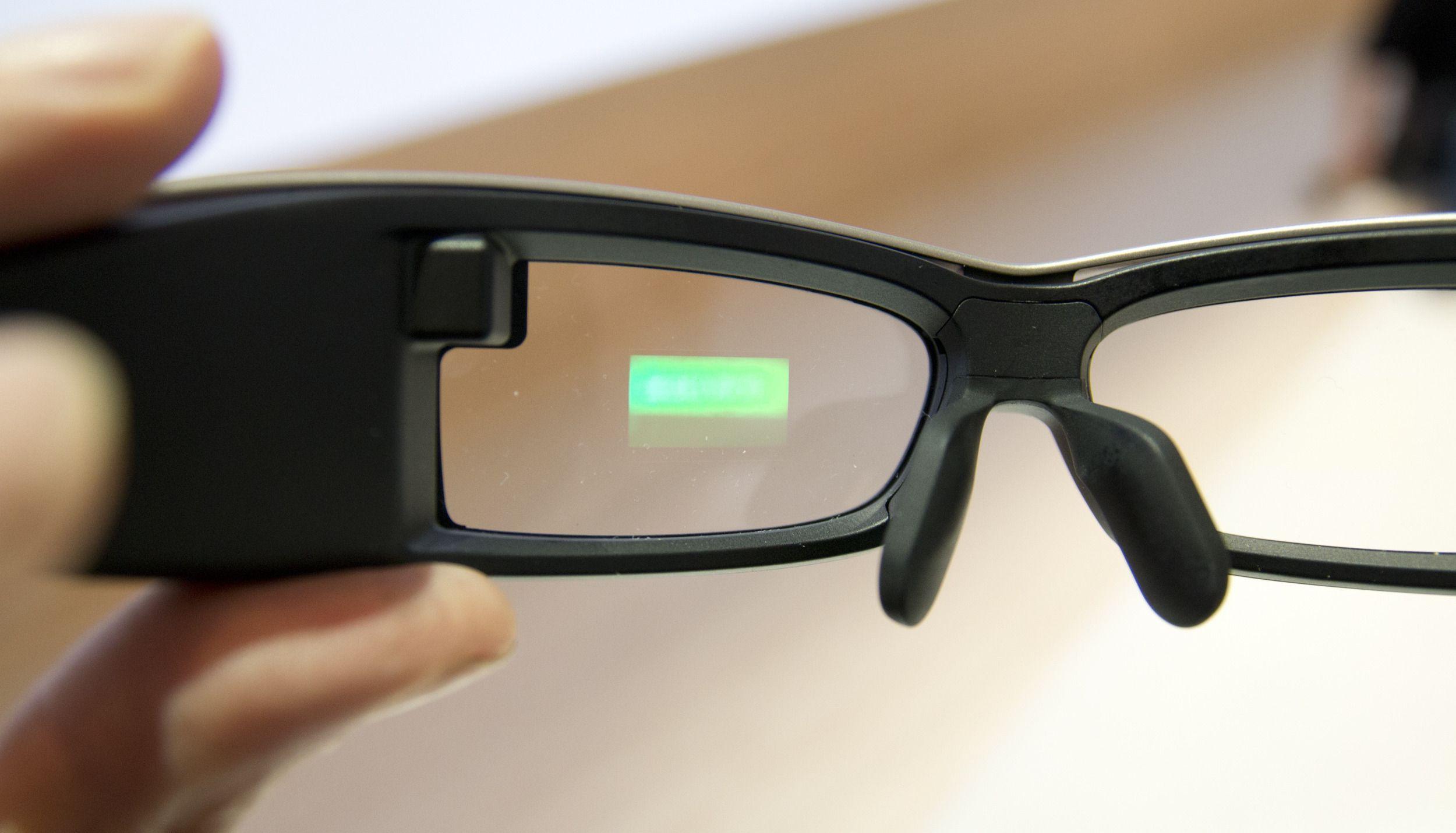 Sony har også smartbriller på gang.Foto: Rolf B. Wegner, Hardware.no