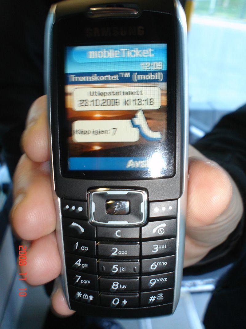 Mobilen forteller deg hvor mange klipp du har igjen. (Foto: Cominor)