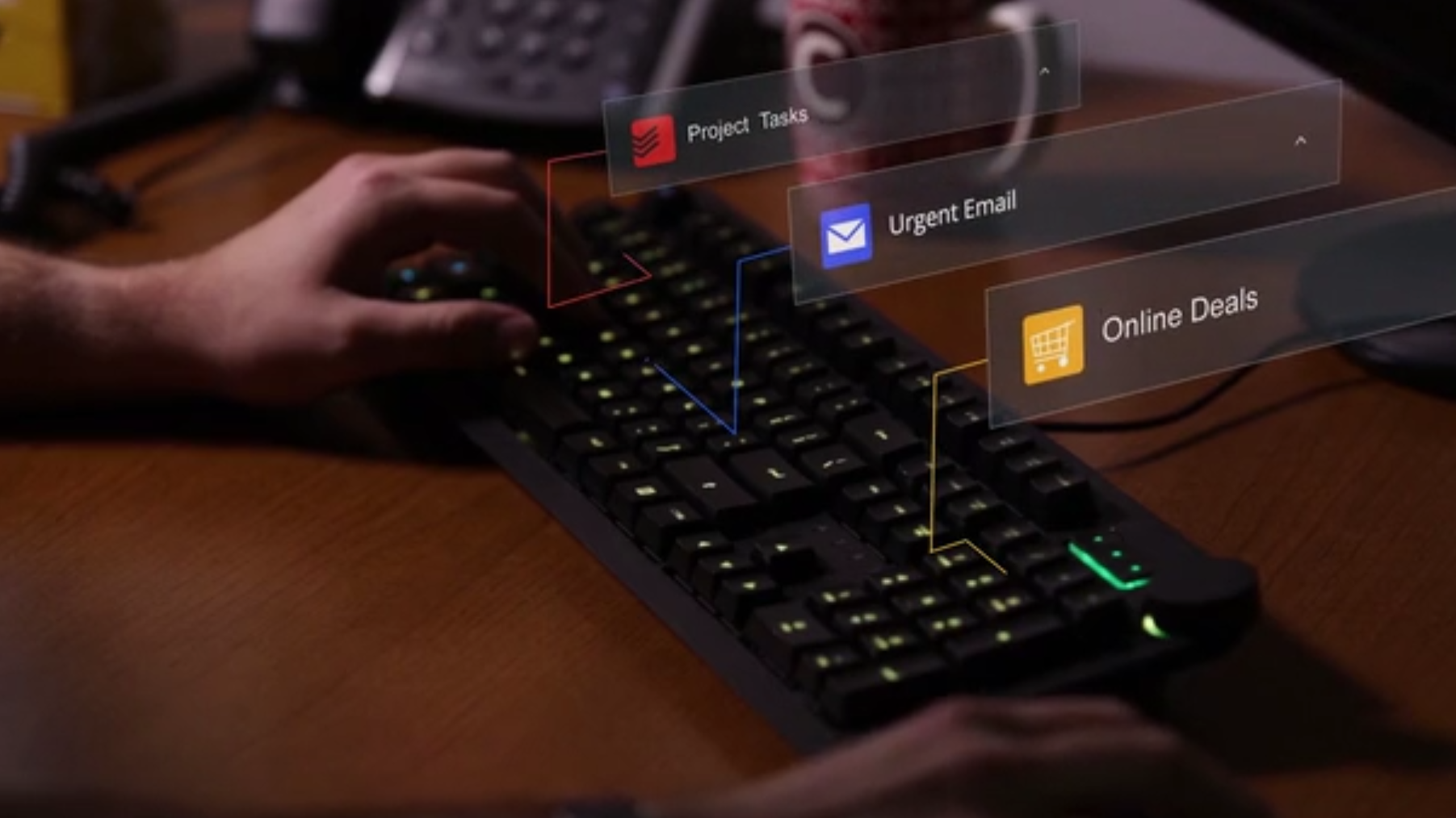 Dette tastaturet er trolig det første i verden som kan kobles til nettskyen